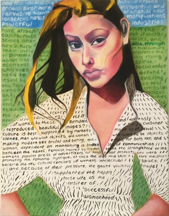 Anna Kazan, Crossed Lines, 2017