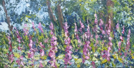 Colin Halliday, Foxgloves, 2013-14