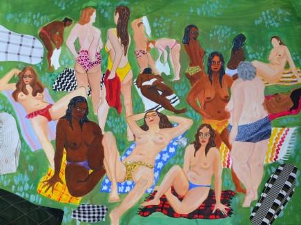 Kezia Webborn - Goldsmiths, University of London, Kenwood Bathing Ladies no.1, 2017