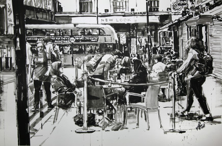 Kaay Karl, Cafe Brixton High Street
