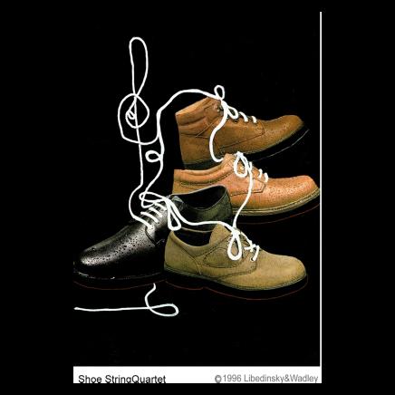 Sylvia Libedinsky, DoubleTakeAway Series - ShoeStringQuarter