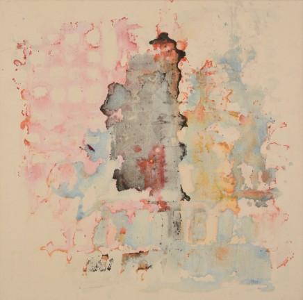 Rachel Egan, Reverse Painting (Untitled I), 2016