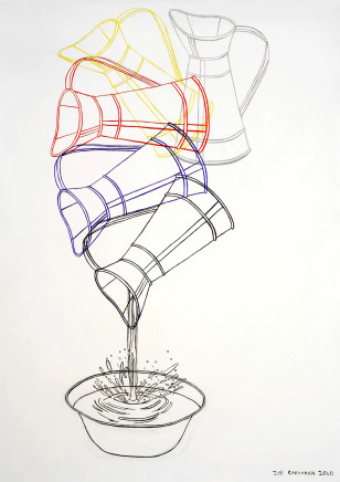 Zoë Callaghan, Pouring Jug in Rotation, 2010