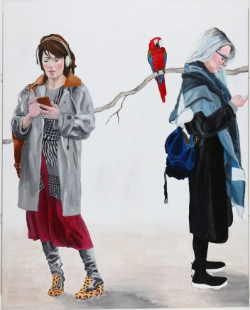 Diana Butement, Red Parrot, 2016