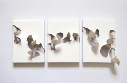 Sofia Vannini, Relief (Triptych), 2016