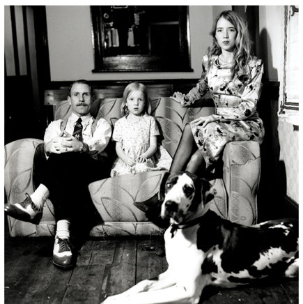 Lucinda Douglas-Menzies, Johnny Vercoutre, Tilly Vercoutre, Suzette Field and Glory , 2004