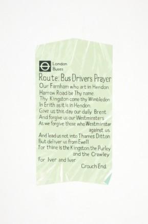 Martin Grover, Bus Driver's Prayer Ticket