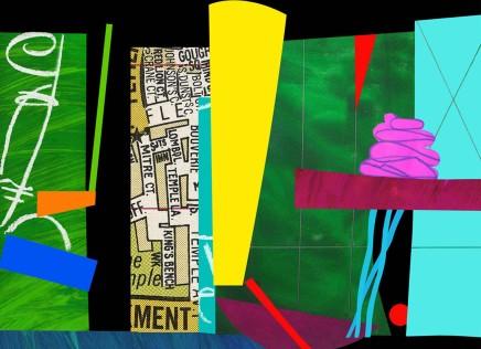 Bruce McLean, Pink Moda, 2011