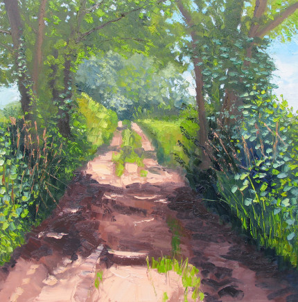 Colin Halliday, Country Lane, 2016