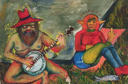 Ben Clarke, Banjo Man and Wife , 2013