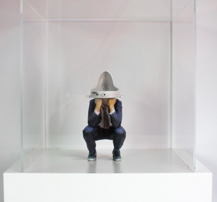 Daniel Warnecke, Duchamp Urinal Head, 2016