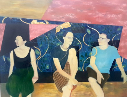 Jayem Won - Slade School of Fine Art, UCL, Summer Night on Gianicolo Hill