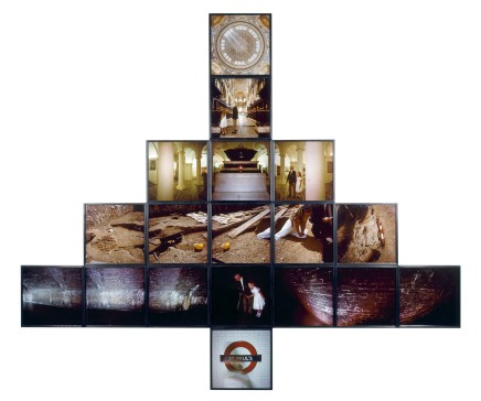 Vaughan Grylls, London Layers, 1988