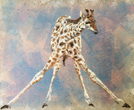 Humphrey Dettmer, Baby Giraffe, 2017