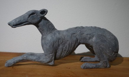 Sophie Ryder, Reclining Dog, 2014