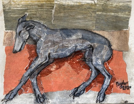 Sophie Ryder, SMALL GREY DOG, 2020
