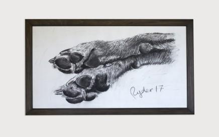 Sophie Ryder, Dog Feet, 2017