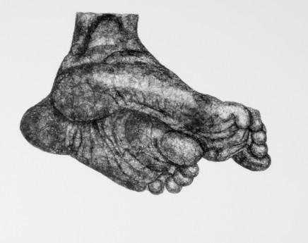 Sophie Ryder, Nell's Feet, 2005