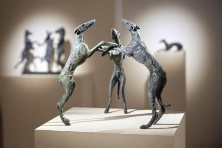 Sophie Ryder, Dancing Dogs, 2015