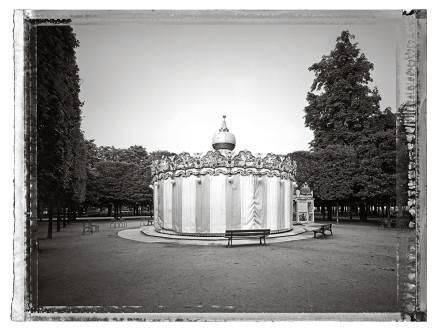 Christopher Thomas, Jardin des Tuileries II, 2013