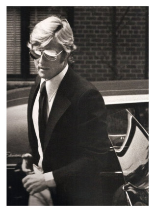 Ron Galella, Robert Redford arriving at Mary Lasker´s Apartment, New York, 1974