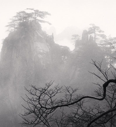 Michael Kenna, Huangshan Mountains, Study 52, Anhui, China, 2017