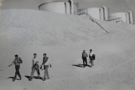 Sergio Larrain, El Salvador, 10.000 habitants, 847 houses mines, the most modern city in Chile, 22.000 tonnes of minerals