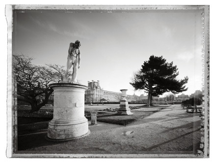Christopher Thomas, Jardin des Tuileries III, 2014