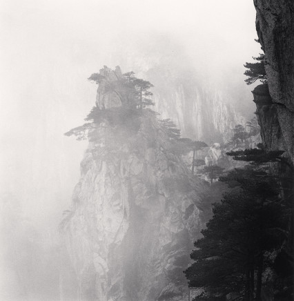 Michael Kenna, Huangshan Mountains, Study 56, Anhui, China, 2017