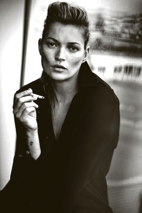 Peter Lindbergh, Kate Moss, for Vogue Italy, 2015