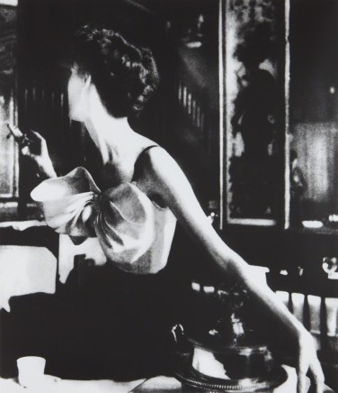 Lillian Bassman, Across the Restaurant, Paris, Harper's Bazaar, 1949