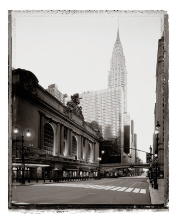 Christopher Thomas, Grand Central Terminal and Chrysler Building, 2008