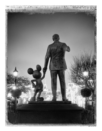 Christopher Thomas, Walt and Mickey, Disney Land, Anaheim, 2017