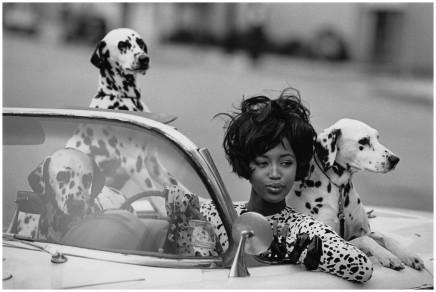 Peter Lindbergh, Naomi Campbell, American Vogue , 1990