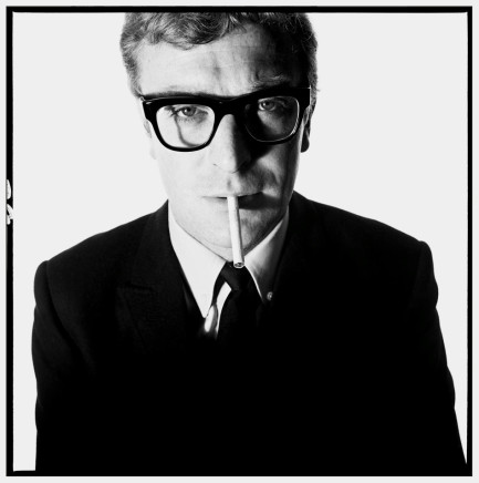 David Bailey, Michael Caine, 1965
