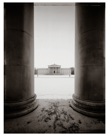 Christopher Thomas, Blick von der Antikensammlung, 1999 - 2005