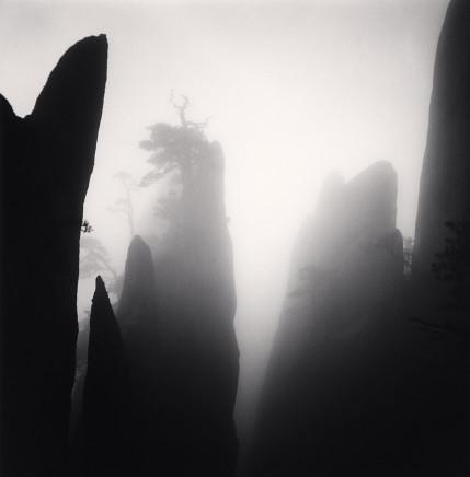 Michael Kenna, Huangshan Mountains, Study 19, Anhui, China, 2009