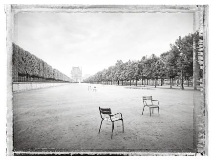Christopher Thomas, Jardin des Tuileries I, 2013