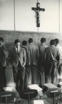 Sergio Larrain, Untitled (University lesson), Chile