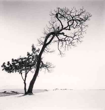 Michael Kenna, Chilly Weather, Kussharo Lake, Hokkaido, Japan, 2013