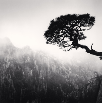 Michael Kenna, Huangshan Mountains, Study 48, Anhui, China, 2010