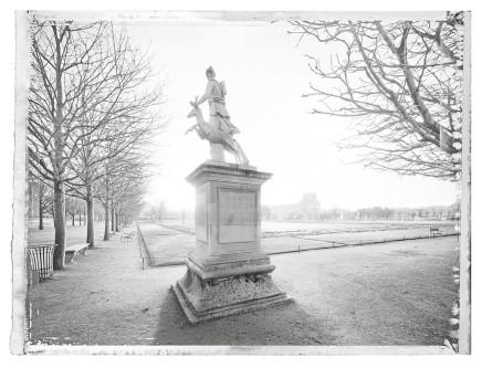 Christopher Thomas, Jardin des Tuileries IV, 2014