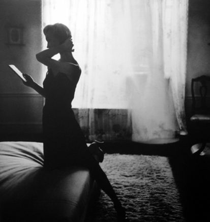 Lillian Bassman, The Personal Touch, Evelyn Tripp, Harper's Bazaar, 1948