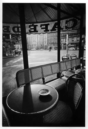 Jeanloup Sieff, Café de Flore, Paris, 1976