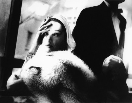 Lillian Bassman, Golden Fox, Blue Fox, Marilyn Ambrose, New York, Harper's Bazaar, c. 1950