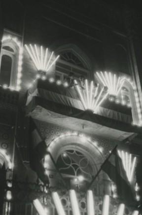 Sergio Larrain, Untitled (Building at night)