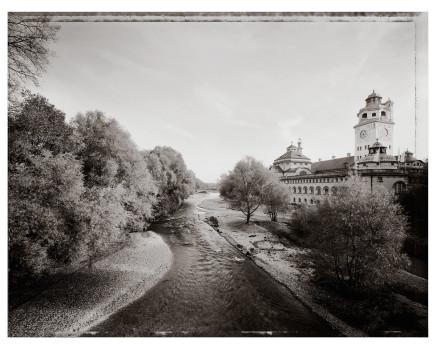 Christopher Thomas, Müllersches Volksbad, Blick von der Ludwigsbrücke, 1999 - 2005