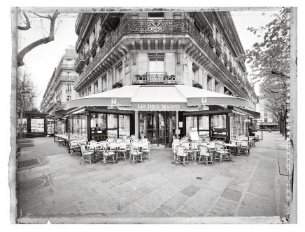 Christopher Thomas, Café Les Deux Magots, 2014