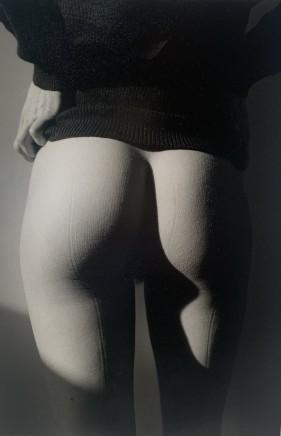 Jeanloup Sieff, Isabelle, Fesses + Marque de couture, 1992