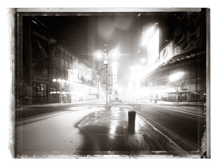 Christopher Thomas, Times Square, 2009
